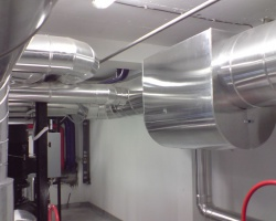 Toplana na opštini Aerodrom Kragujevac - Izrada klimatizacionog i ventilacionog sistema