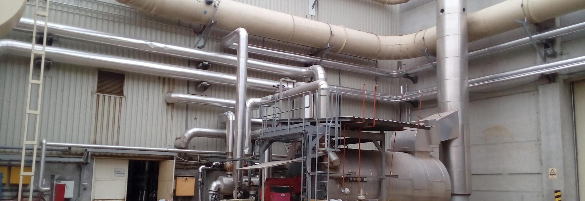 Ventilacioni sistem proizvodnog postrojenja